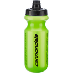 Cannondale Logo Fade Bottle 570ml, trans green/black